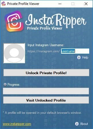 view private Instagram no survey with InstaRipper
