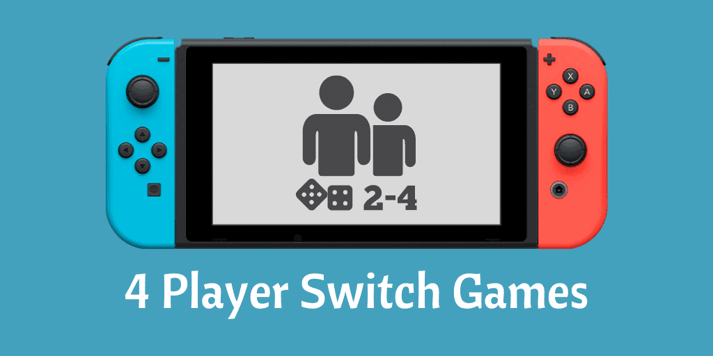 4 Player Switch Games