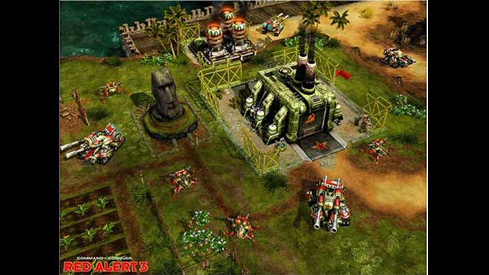 Games Like Warcraft 3 - Command and Conquer: Red Alert 3