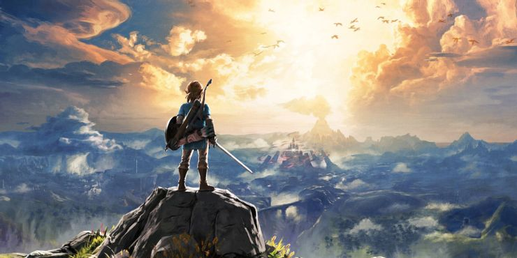 Games Like Assassin's Creed - The Legend of Zelda: Breath of the Wild (2017)
