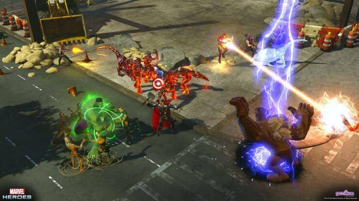 Games like Path Of Exile - Marvel Heroes