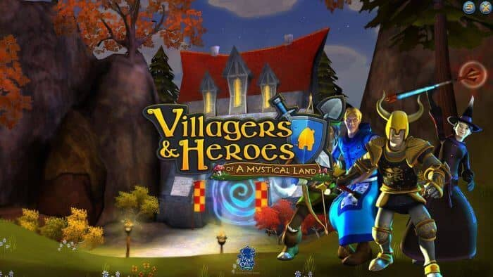 Games Like Runescape - Villagers and Heroes