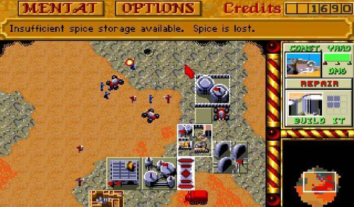 Games Like Command And Conquer - Dune II