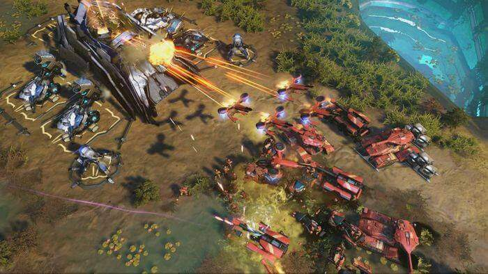 Games Like Command And Conquer - Halo Wars