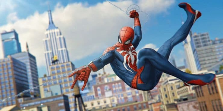 Games Like Red Dead Redemption 2 - Spider-Man PS4