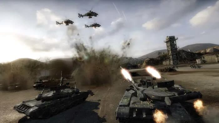 Games Like Command And Conquer - Tom Clancy's EndWar