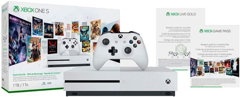 Best Video Game Console for Kids - Xbox One S 1TB Console – Starter Bundle