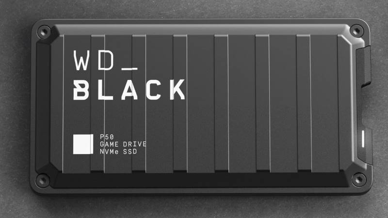 Best SSD for PS4 Pro - WD_Black P50 Game Drive