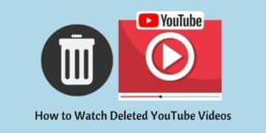 Deleted YouTube Videos