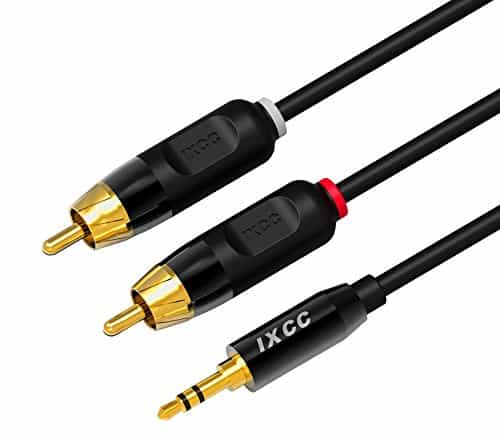 Best RCA Cables for Audio  - iXCC 6ft Dual Shielded