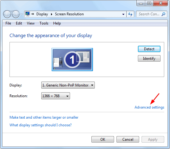Fix Input Not Supported on Monitor on Windows 7 & 8