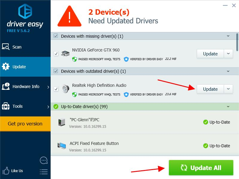 how to stop speakers from buzzing Using Driver Easy