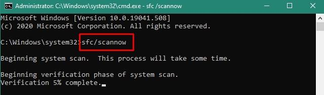 Use an SFC scan and DISM